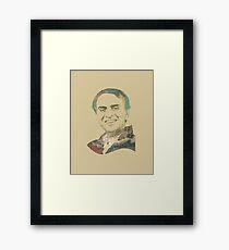 Carl Sagan Framed Print