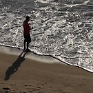 Fishing in the Sunset - Pescando en la Puesta del Sol II by PtoVallartaMex