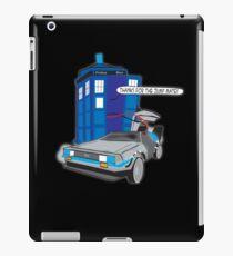 Time Travel Jump Start iPad Case/Skin