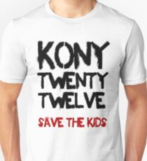 Kony T-Shirt - Save the Kids T-Shirt