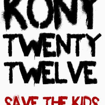 Kony T-Shirt - Save the Kids by KonyTshirts