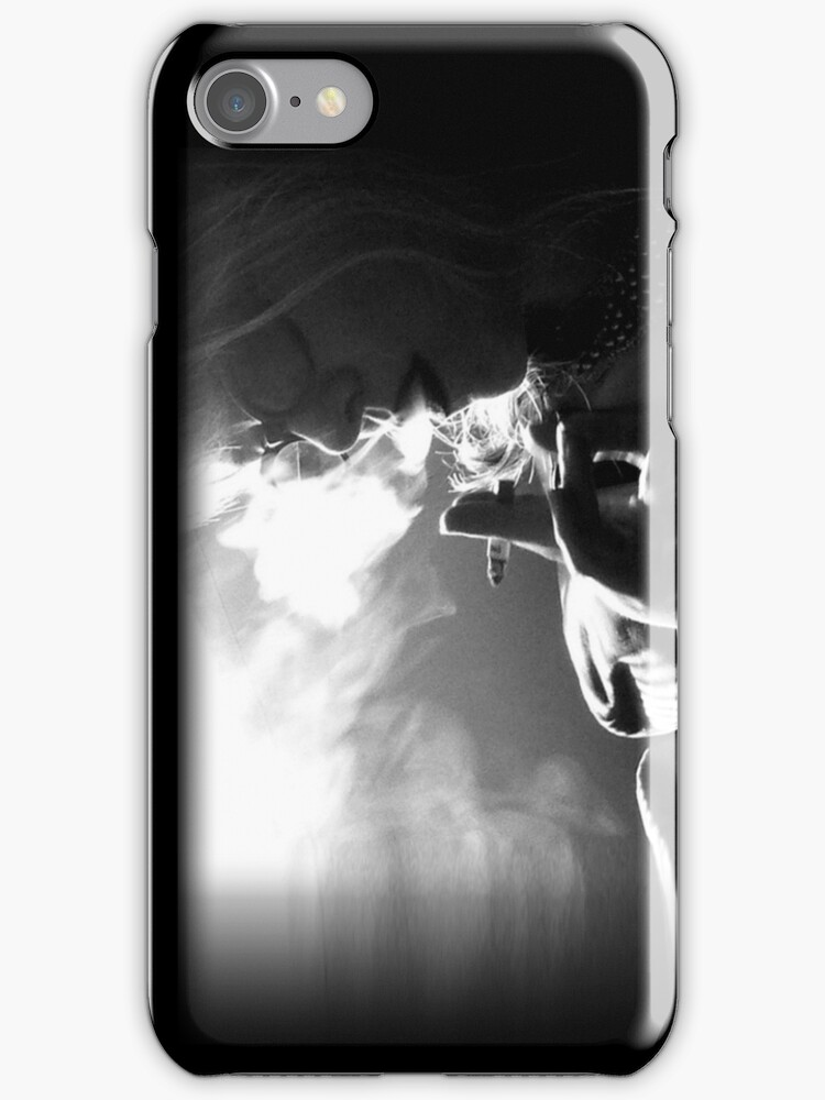 Smoke iphone by Margaret Bryant