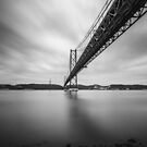 25 de Abril Bridge, Lisbon, Portugal by Alessio Michelini