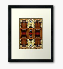 Death - Card XI from The Tarot of Flowers Framed Print