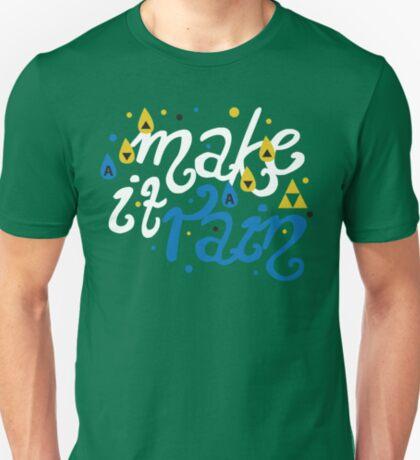 Song of Storms - Make It Rain T-Shirt