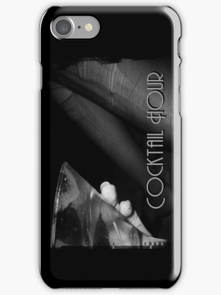 Cocktail Hour iPhone by Margaret Bryant