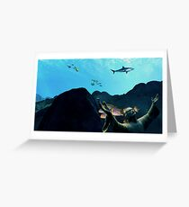 Christ of the Reefs Greeting Card