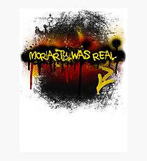 Moriarty was real (fire) Photographic Print