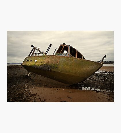 Ship Wrecked Photographic Print