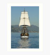 Replica Ahoy! Art Print