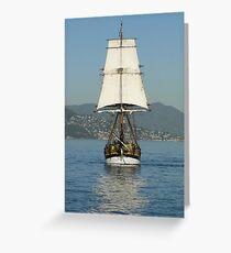 Replica Ahoy! Greeting Card