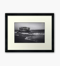 Though the Tides May Turn Framed Print