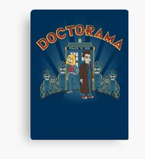 Doctorama Presents! Canvas Print
