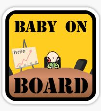 Baby on (Corporate) Board Sticker