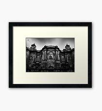 Haunted Mansion? Framed Print