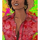 The Radiance of Pam Grier by Todd Bane