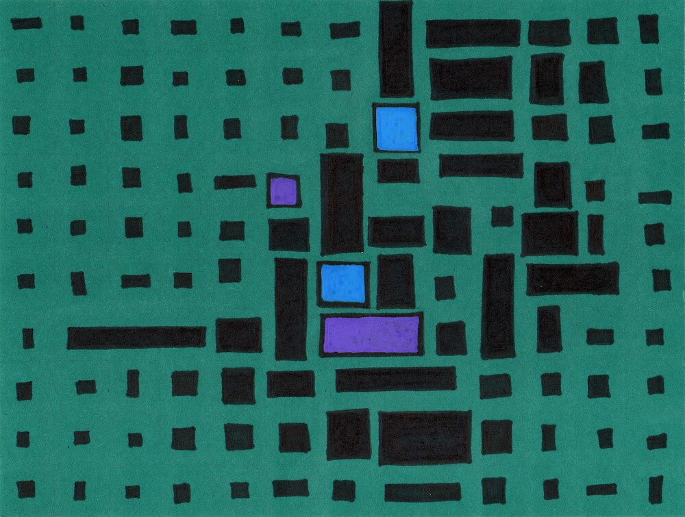 Rectangles by Jacki Temple