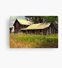 My Old Place Canvas Print
