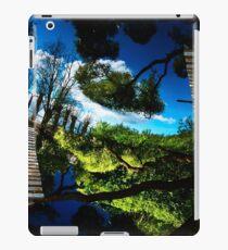 Blue ponds iPad Case/Skin