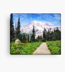 A Day in Paradise Canvas Print