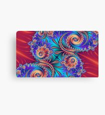 Scrolls and Whirls Canvas Print