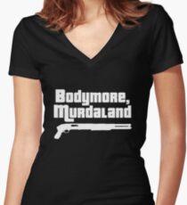 Bodymore, Murdaland Women's Fitted V-Neck T-Shirt