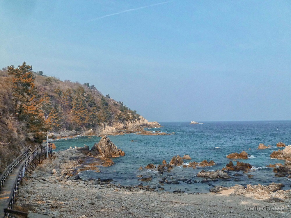 Korean East Coast by Jeanne Frasse