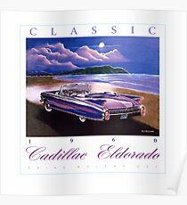 1960 Cadillac Eldorado Biarritz Convertible ver 2 Poster