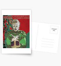 Merry Christmas Pinhead Postcards