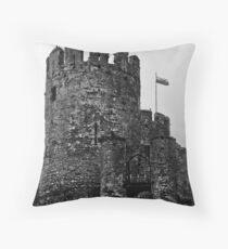 Conwy Castle  Conwy Wales Throw Pillow