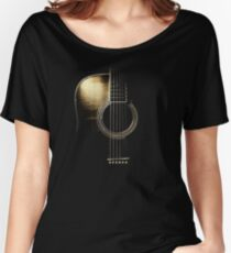Acoustic Guitar Lite (please see description) Women's Relaxed Fit T-Shirt