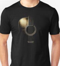 Acoustic Guitar Lite (please see description) Slim Fit T-Shirt