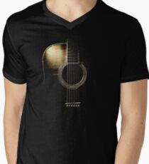 Acoustic Guitar Lite (please see description) Men's V-Neck T-Shirt