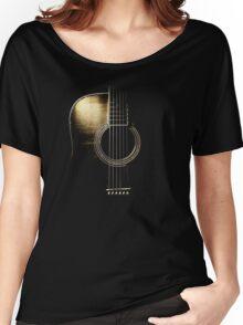 Acoustic Guitar Lite (please see description) Women's Relaxed Fit T-Shirt