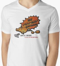 Pork Chop Express Men's V-Neck T-Shirt