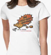 Pork Chop Express Women's Fitted T-Shirt