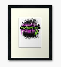 Moriarty was real (madness) Framed Print