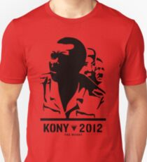 Kony 2012 (transparent) Unisex T-Shirt