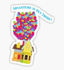Balloon House Tee Sticker