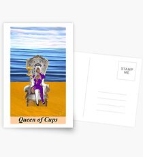 QUEEN OF CUPS Postcards
