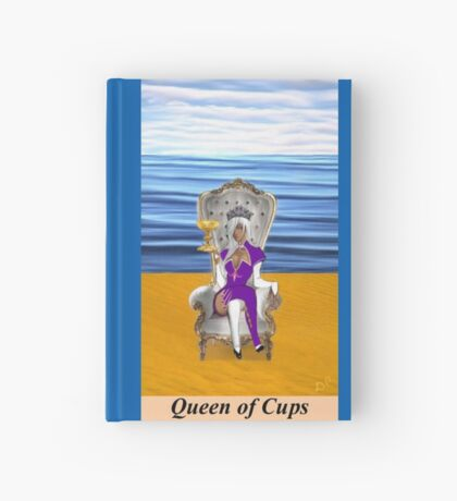 QUEEN OF CUPS Hardcover Journal