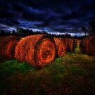 Farmer's field by Andre Faubert