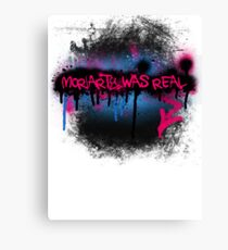 Moriarty was real (bubblegum) Canvas Print