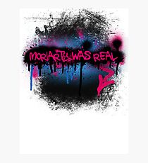 Moriarty was real (bubblegum) Photographic Print