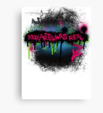 Moriarty was real (rave) Canvas Print