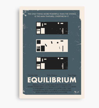 Equilibrium Poster Canvas Print