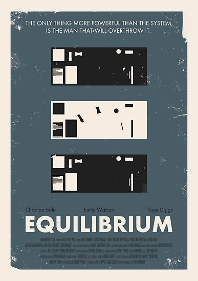 Equilibrium Poster by Jens A. Larsen Aas