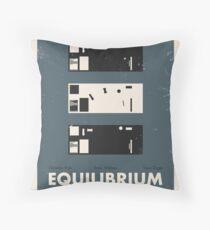 Equilibrium Poster Throw Pillow
