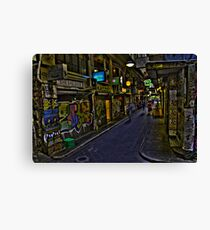 Degraves St 12 Canvas Print