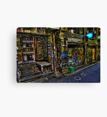 Degraves St 13 Canvas Print